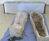 ضبط 193 قطعة أثرية.. سقوط عصابة اكتشفت مقبرة فرعونية بالجيزة