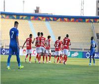 رمضان صبحي يحرز الهدف الخامس للأهلي في مرمى أسوان