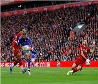 فيديو  ليستر سيتي يسجل هدف التعادل في ليفربول