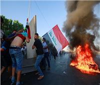 مقتل خمسة في اشتباكات المتظاهرين والشرطة ببغداد