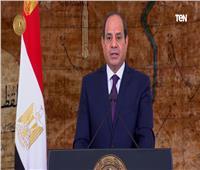 فيديو| السيسي: الأمواج العاتية تتحطم دوما أمام صلابة وتماسك الشعب المصري