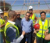بالصور.. مسئولو «الإسكان» يتفقدون مشروعات العاصمة الإدارية الجديدة