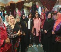 وزيرتا التخطيط والهجرة تزوران «معرض تراثنا»