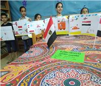 طلائع مركز شباب باسوس بالقليوبية يحتفلون بذكرى انتصارات أكتوبر