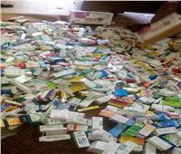 ضبط 7 ألاف قرص برشام و105 زجاجة و600 سرنجة في محل بالبداري
