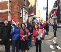 صور| الجالية المصرية بلندن تحتفل بذكرى نصر أكتوبر