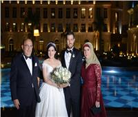 صور| بحضور نخبة من الإعلاميين المصريين والعرب.. زفاف روان ورامي
