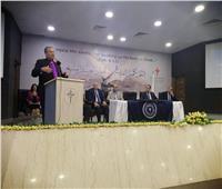 القس أندريه زكي يشارك الاحتفال بتخرج دفعة دبلوما التراث العربي المسيحي