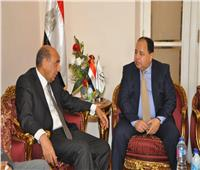 وزير المالية يهنئ المستشار محمد حسام الدين بتعيينه رئيسا لمجلس الدولة