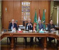 رئيس جامعة المنوفية يرأس جلسة مجلس شئون التعليم والطلاب