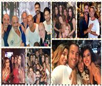 فيديو وصور| النجوم يحتفلون بعيد ميلاد عمرو دياب