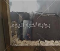 بالفيديو| اللحظات الأولى لحريق شقة سكنية في روض الفرج