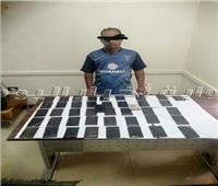 صور| تفاصيل ضبط 41 ألف قرص مخدر و 13 كيلو حشيش وأفيون بقنا