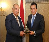وزير التعليم العالي يلتقي نظيره الفلسطيني لبحث سبل التعاون