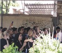15 صورة من جنازة الفنان طلعت زكريا في الإسكندرية
