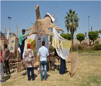 بانوراما حرب أكتوبر في مخيم كشفي ضمن إحتفالات جامعة أسيوط بالنصر المجيد