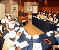 أمين عام مجمع البحوث الإسلامية يلتقي بالأئمة الليبيين بمنظمة الخريجين