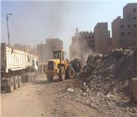 رئيس حي شرق شبرا الخيمة: نرفع 1200 طن قمامة يومياً من الشوارع