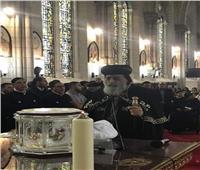 البابا تواضروس يصل مقر إيبارشية باريس