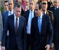 ملك الأردن يصل القاهرة للقاء الرئيس السيسي