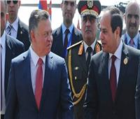 العاهل الأردني يغادر القاهرة بعد لقاء الرئيس السيسي