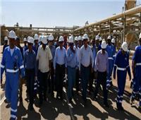 وزير البترول يتفقد موقع إنتاج «بدر 3» بالصحراء الغربية