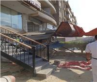 صور| جهاز مدينة 6 أكتوبر يشُن حملات لإزالة التعديات