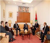كامل الوزير: تنسيق التعاون في مجال النقل وتنشيط حركة التجارة مع الأردن