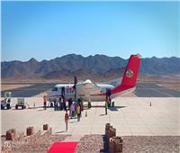 صور  مطار سانت كاترين يودع ضيوف مؤتمر «هنا نصلي معا»