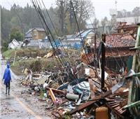 زلزال بقوة 5,7 ريختر يضرب وسط اليابان