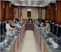 وفد منمجلس الوزراءلمتابعة تنفيذ «حياة كريمة» بقرى سوهاج