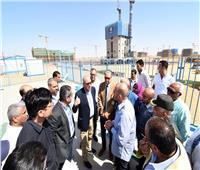 وزير الإسكان بتفقد «الحي الحكومي» بالعاصمة الإدارية الجديدة