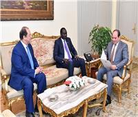 فيديو| السيسي يوجه بخفض الدين العام.. ويتسلم دعوة «سلفا كير» لحضور مفاوضات السلام السودانية