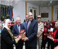 محافظ بورسعيد يشهد احتفالية تكريم أبطال ٦ أكتوبر
