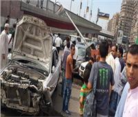 إصابة 6 أشخاص في حادث تصادم بين أتوبيس وسيارة نقل بالوايلي