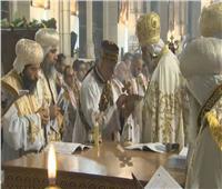 البابا تواضروس يدشن كنيسة العذراء والملاك بدرافي