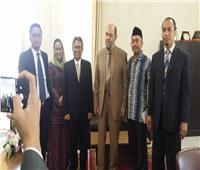 «برس» يستقبل وفدًا إندونيسيًا بجامعة الأزهر لبحث آفاق التعاون المشترك