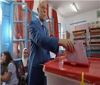 انتخابات تونس  قيس سعيد يدلي بصوته في الانتخابات الرئاسية