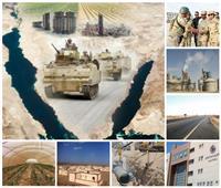 هذا ما يحدث في سيناء.. مشروعات عملاقة وشاملة لتنمية «أرض الفيروز»