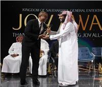 صور وفيديو | تكريم عمرو دياب في موسم الرياض الترفيهي