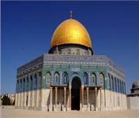 وفد من بعثة المنتخب السعودي يزور المسجد الأقصى المبارك