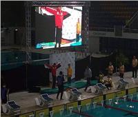 السباح محمد جوده يفوز بالميدالية الفضية في بطولة العالم باستراليا