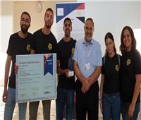 فوز 5 طلاب بجائزة متميزة في مسابقة دولية لأجهزة الاستشعار البيولوجية