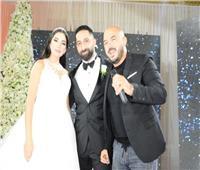 صور| العسيلي والليثي نجما زفاف «إيهاب ومرح»