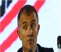 «ميتشو» يتابع لاعبي الزمالك أمام بتسوانا في برج العرب