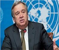 الأمين العام للأمم المتحدة يدعو لوقف فوري للتصعيد فى سوريا