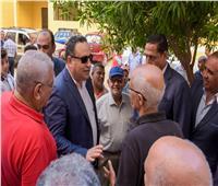 محافظ الإسكندرية يوجه بتطوير مساكن الشباب بطوسون