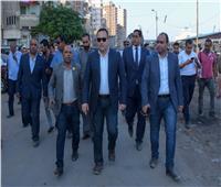 محافظ الإسكندرية يوجه بحلول فورية لمشاكل عزبة الصيادين بأبي قير