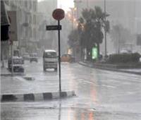 سقوط أمطار مصحوبة ببرق ورعد بالوادي الجديد