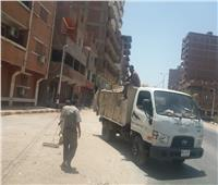 تحرير 163 محضر ورفع 141 طن قمامة خلال حملات للنظافة بأسيوط